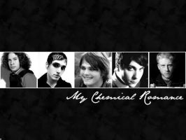 My Chemical Romance Wallpaper by Groteskiprincessa