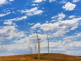 Northern California Windmills by Mad-Twatter