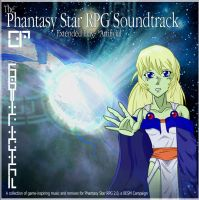 Phantasy Star RPG EP Cover by SP00KYELECTRIC