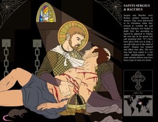 Saints Sergius + Bacchus by MeteoDesigns