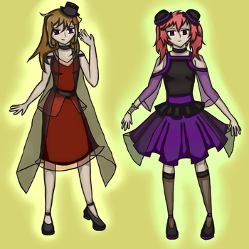 Formal Sparky and Xiao by Sparkywor