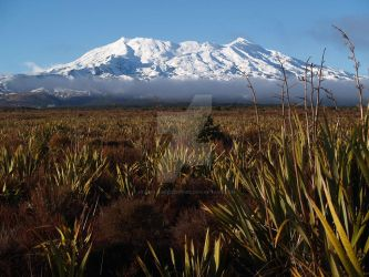 Mt Ruapehu by StarflameMoonfire