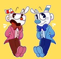Dapper cups by PopAnimals