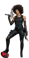 Deadpool 2 Domino PNG by Metropolis-Hero1125