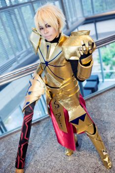 Fate/Stay Night - Gilgamesh by KURA-rin