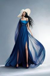 The Silver Eye - Melete in the Blue Gown by LauraHollingsworth