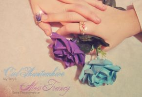 Phantomhive and Trancy rings. by AliciaMigueles