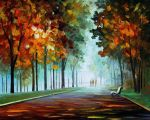 Heroes from the fog by Leonid Afremov