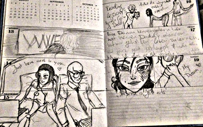 Vals Diary Week 33 by WhosLizzz