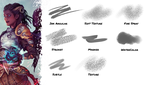 Brush set Vol. 2 for Clip Studio Paint by typesprite