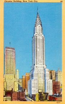 Vintage New York - The Chrysler Building by Yesterdays-Paper