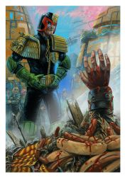 Judge Dredd (The PF) by JonTaylorArt