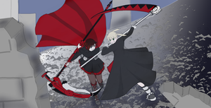 Maka vs Ruby by Higanbana173