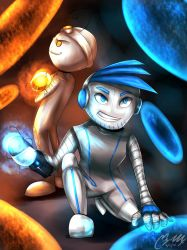 Pewds and Cry - Portal 2 by masayo11