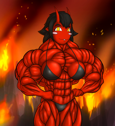 Ashlien from Hell by gijohn20