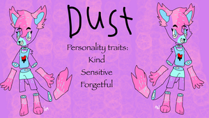 (OC) Dust reference sheet by DelilahPines
