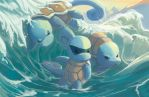 Squirtle Squad by Limited-Access