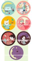 adventure time pins: mathematical! by resubee