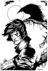 The Crow by luisalonso