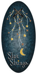Lady-Star-Strings Signature + Logo by Lady-Star-Strings