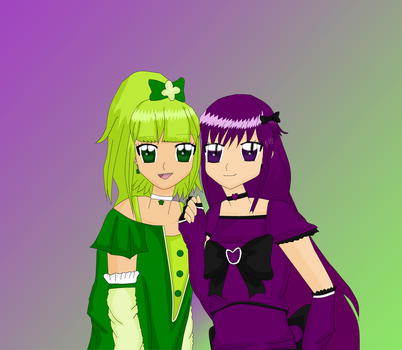 Cure Tarte and Cure Violet by EllaXxXAmu