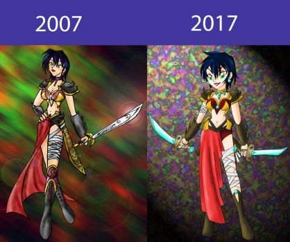 Improvement over the last ten years by HelenStar