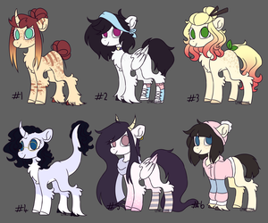 ADOPTABLES #4 (CLOSED) by LynessSan