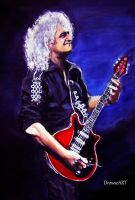 Dr. Brian May by DrowseART