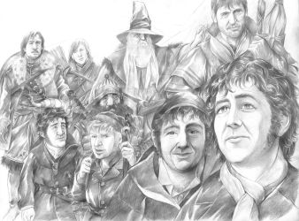 The Fellowship of the Ring by AbePapakhian