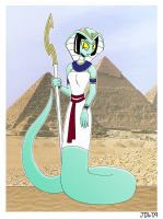 Egyptian Naga by Azadeth