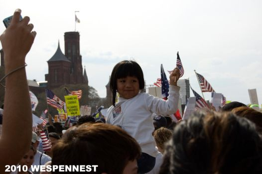 Immigration Reform March V by Wespennest