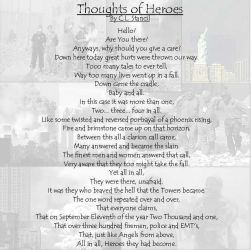 Thoughts on Heros... by tergen