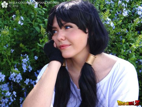 Thinking about him - Videl Cosplay by Bella-Colombo