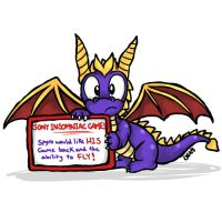 Spyro Request by SilverJackie1