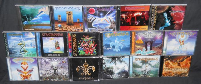 Stratovarius CD Collection by Malidicus