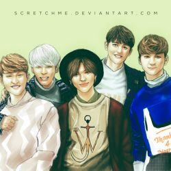 Shinee by scretchme