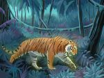 Tiger Tiger by Lin-the-Wanderer