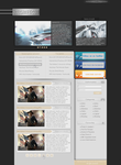 Game web-template by gio-bibo