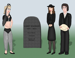 In memoriam Larry Hagman by hippo2