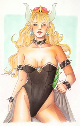 Bowsette by Shesvii