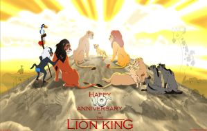 The Lion King: Ten Years Old by Akril15