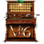 Steampunk Tabulator VB6 Icon MkII by yereverluvinuncleber