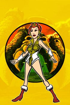 teela remastered by AlanSchell