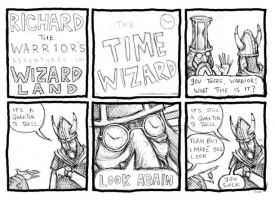 The Time Wizard by LunglessArt