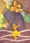 1st Price Illustration Contest : The violonist by Ludimie