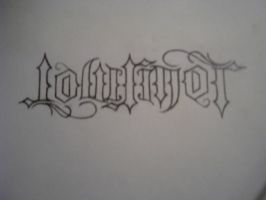 Lowrider AMBIGRAM by lowlife619