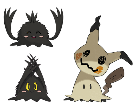 Mimikyu without disguise. by Alexalan