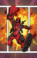 Deadpool by wheretheresawil