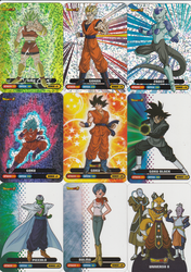 Italian Lamincard 2018 DragonBall Super New Serie by 19onepiece90