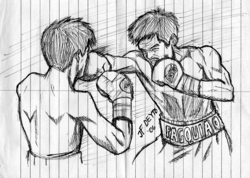 Manny Paquiao Punch by popejohnfreddxiii